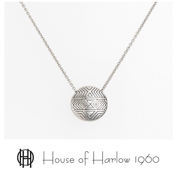 House of harlow 1960 jewelry house of harlow engraved pendant m5ad2d9818290afb0bc7ad0c1 aloadofball Choice Image